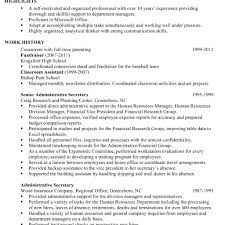 Administrative Assistant Resume Template Free Administrative Assistant Resume Resume Template And