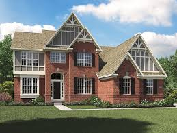 duplex plans with garage in middle legacy ridge new homes in carmel in 46033 calatlantic homes