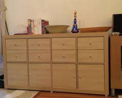 ikea expedit with kallax doors and drawers to make a perfect