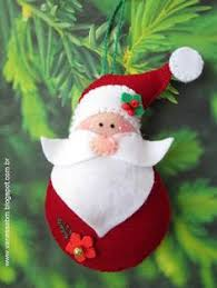 diy felt santa claus ornaments free pattern template would