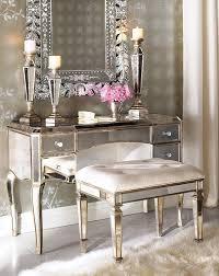 Bedroom Vanity Set Tips Mirrored Makeup Vanity Mirrored Vanity Set Mirrored