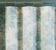 Fieldcrest Luxury Shower Curtain - fieldcrest luxury ogie shower curtain blue products i love