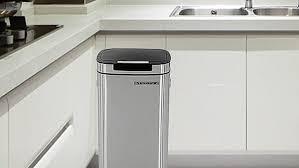 kitchen move poubelle de cuisine automatique 58 l globe gifts com cuisine best of kitchen move poubelle de