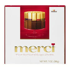 where to buy merci chocolates storck merci finest assortment of european chocolates 7 0 oz