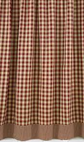 Burgandy Shower Curtain Best 25 Primitive Shower Curtains Ideas On Pinterest Country