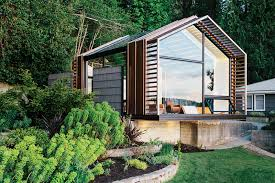 tiny house town remodelled guesthouse and party space