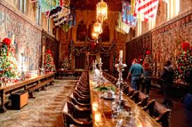 Hearst Castle San Simeon California Upnabout Surendra Saxena - Hearst castle dining room