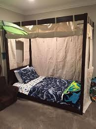 Faux Canopy Bed Drape Best 25 Girls Canopy Beds Ideas On Pinterest Canopy Beds For