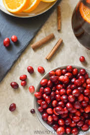 cranberry cinnamon drink recipe for thanksgiving dinner