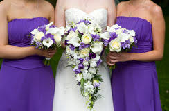 Bridesmaids Bouquets Bride And Bridesmaids Bouquets Royalty Free Stock Image Image