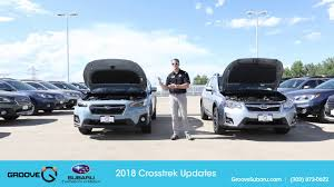 subaru crosstrek white 2018 what u0027s the difference between the 2017 and the 2018 crosstrek