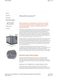 application of micro turbine gas turbine cogeneration