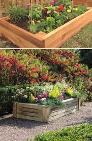 how to build a raised flower bed garden diy video tutorial