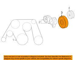 lexus gs460 uk lexus oem 1660338030 07 14 ls460 drive belt idler pulley 16603