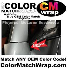 How To Get A Paint Chip For Color Matching Color Match Wrap Oem Paint Code Color Matching Vinyl Wrap