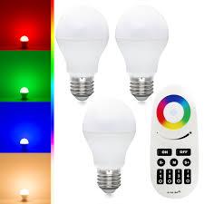 Led White Light Bulbs by Rgbw Led Light Kit 6w Rgb White Warm White Led Bulbs Remote