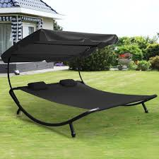 Sun Garden Easy Sun Parasol Replacement Canopy by Outdoortips Double Sun Garden Lounger Day Bed Outdoor Garden Frame