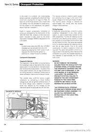 jaguar xj 1995 2 g technical information manual
