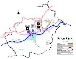 Blue Ridge Mountains Map Julian Price Park Hiking Trails Blue Ridge Parkway U S
