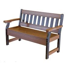Amish Patio Furniture Little Cottage Collection Amish Polywood Garden Bench