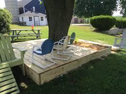 Backyard Sandbox Ideas Diy Covered Sandbox U0026 Playdeck