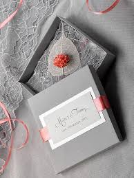 box wedding invitations custom listing 100 box and lace wedding invitation vintage