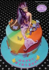 mermaid birthday cake rainbow mermaid birthday cake s bake house