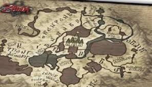 twilight princess map a look at the exclusive cloth map in legend of twilight