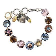 bracelet crystal tennis images Mar b 4174 1092 sp mariana rhapsode silver plated snowflake jpg