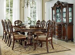 park formal dining room table set