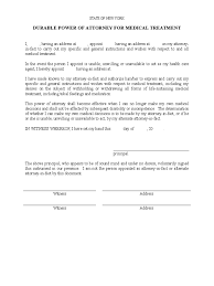 Medical Power Of Attorney Pdf by New York Power Of Attorney Form Free Templates In Pdf Word
