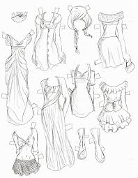 fashion design sketches of dresses black and white this is the