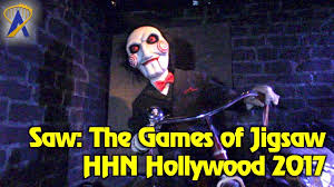 halloween horror nights hollywood twitter saw the games of jigsaw maze highlights at halloween horror