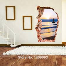 sticker art picture more detailed picture about home decor 3d
