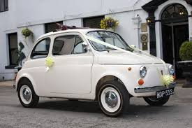 Wedding Cars Ellesmere Port Classic Fiat 500 Wedding Car Classic Car Hire Lancashire