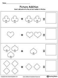 pumpkin picture addition worksheet kindergarten worksheets