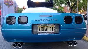 corvette vanity plates license plates best corvette tags at carlisle corvetteforum