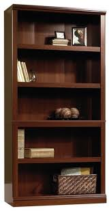 5 Shelves Bookcase Sauder 5 Shelf Split Bookcase Transitional Bookcases By The Mine