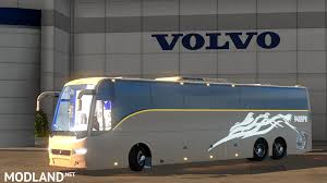 volvo truck bus volvo bus mod with indian volvo b7r b9r b11r passengers mod for