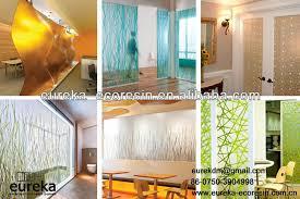 modern interior designs ecoresin plexiglass sheets wall inside panels decorations 1