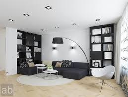 white and black living room design log cabin wall decor haparoot