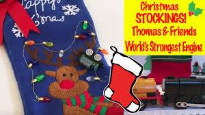 thomas u0026 friends christmas stockings world u0027s strongest engine