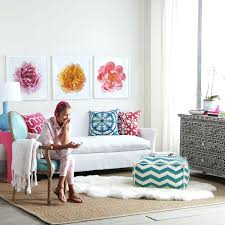 wall decor stickers target art ideas design wooden peony canvas