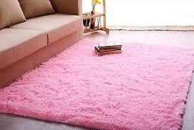 Large Pink Area Rug Girls Area Rug Ebay