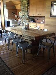 rustic dining table made from reclaimed wood 30