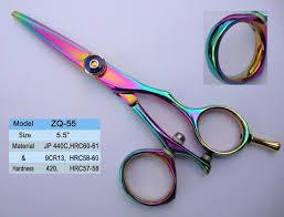 blue hair cutting scissors tattoo hair scissors buy super cut