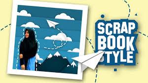 tutorial membuat scrapbook digital edit foto kekinian 3d digital scrapbook photoshop photoshop