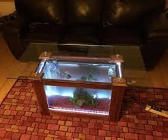 fish tank coffee table diy diy aquarium coffee table writehookstudio com