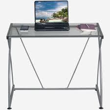 Techni Mobili L Shaped Glass Computer Desk With Chrome Frame Mobili Furniture New Techni Mobili Rta 3802 Gl 6718 Mowebs