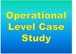 operational case study exam ocs resources study cima
